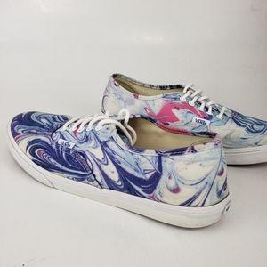 Vans Swirl Sneakers 👟 Women's 9.5 Mens 8